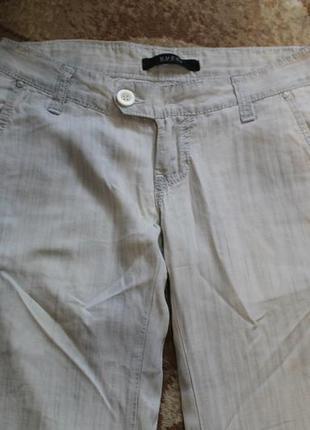 Женские легкие брюки, льяные штаны gucci р. 27 или s италия