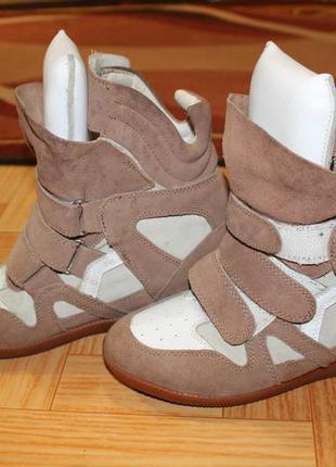 Демисезонные ботинки,  сникерсы isabel marant кроссовки оригинал