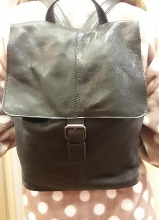 Кожаный городской рюкзак varese  италия