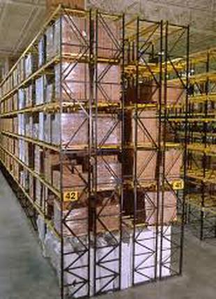 Стеллаж паллетный Стеллаж под паллеты Стеллаж паллетного хранения