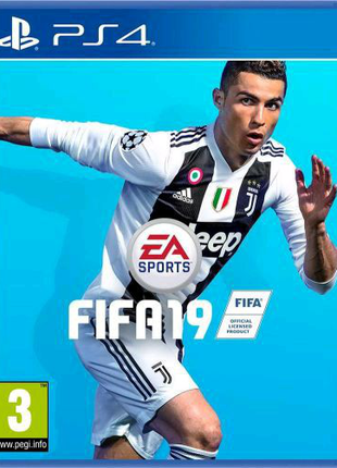 Диск FIFA 19 PS4