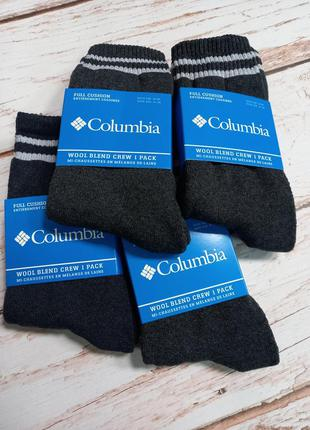 Мужские шерстяные носки с махрой коламбия columbia