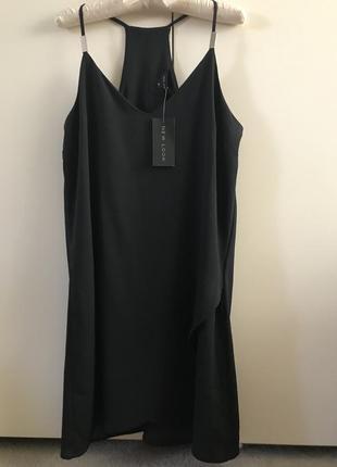 Платье new look в бельевом стиле, р. 12-14