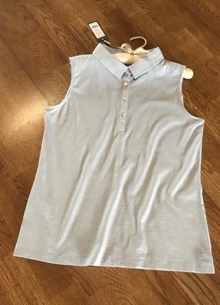 Футболка майка поло блузка laura ashley, 12 p.
