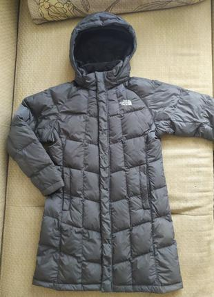 Курточка пуховик пальто North face