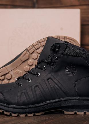 Мужские кроссовки зимние кожаные Timberland