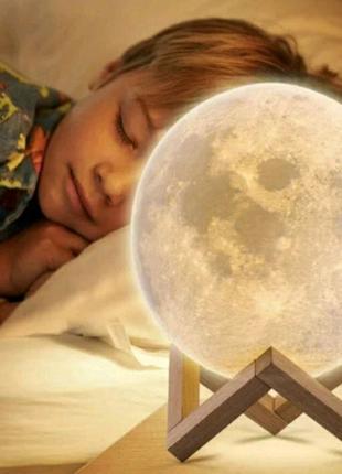 Ночник проектор светильник Луна новый не дорого качественный