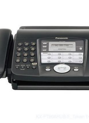 Факс бу Panasonic KX-FT904 A4, термобумага, Память 28 страниц