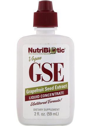 Экстракт семян ( косточек)грейпфрута GSE NutriBiotic жидкий