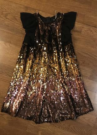 Стильное платье john levi's   на 7 лет