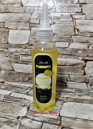 Оральная смазка на водной основе, со вкусом Лимона