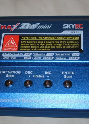 Зарядное устройство SKYRC IMAX B6 мини (оригинал)