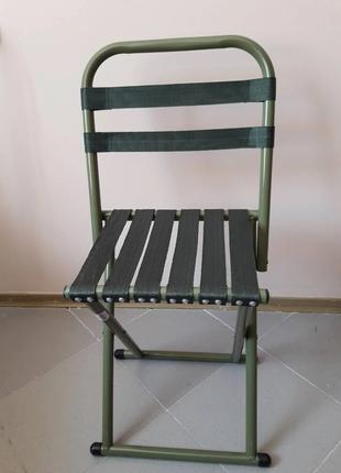 Раскладной складной стул кресло со спинкой 2в1