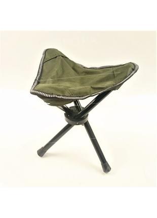 Стул стульчик раскладной тренога для рыбалки походов туризма