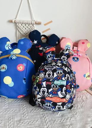 Детский рюкзак «Микки Маус», 2 цвета, новый