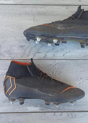 Nike superfly 6 elite футбольные бутсы профессиональные оригинал