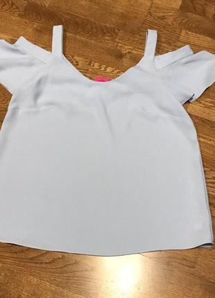 Блузка george с открытыми плечами