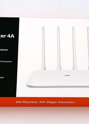 Роутер Xiaomi Mi WiFi 4A Global (2.4 ГГц и 5 ГГц)