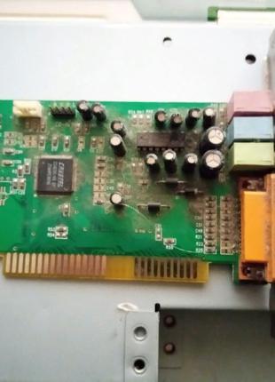 Звуковая карта на чипе CRISTAL старого образца с интерфейсом ISA