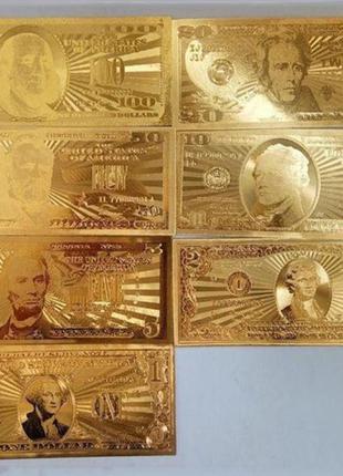Сувенирные купюры доллар