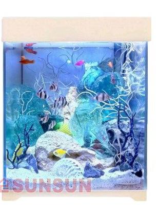 Аквариум с крышкой Sunsun AT 250D 15 л