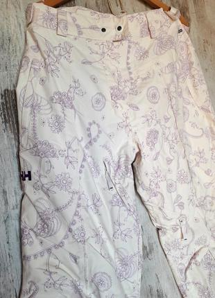 Супер крутые лыжные штаны hally hansen