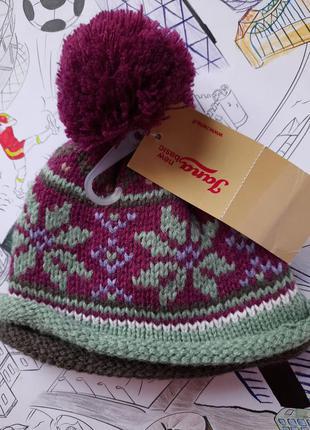 Классная теплая шапочка yana (италия)