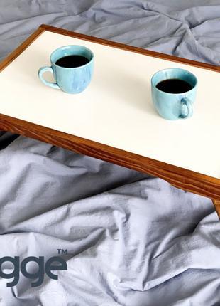 Деревянный столик для завтрака в постель Hygge™ Vanlig, золотой д