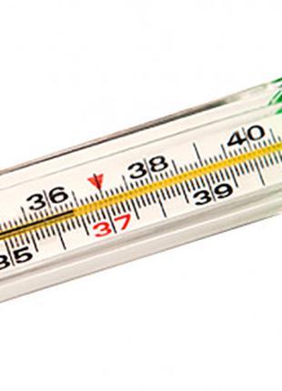 Термометр медицинский градусник.