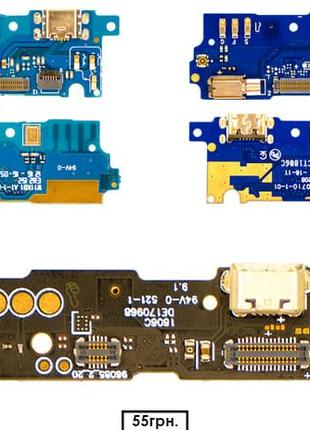 Нижняя плата/Разъём зарядки/Микрофон | Meizu | M3 / M3 Note / M3s