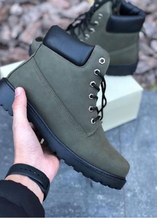 Мужская обувь Timberland Зеленый Зима