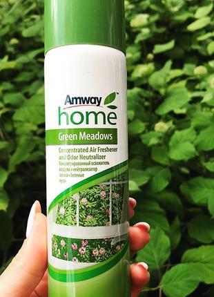 Концентрированный освежитель воздуха GREEN MEADOWS™ AMWAY HOME™