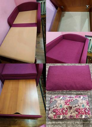 Раскладное кресло, кресло кровать, детская мебель для спальни