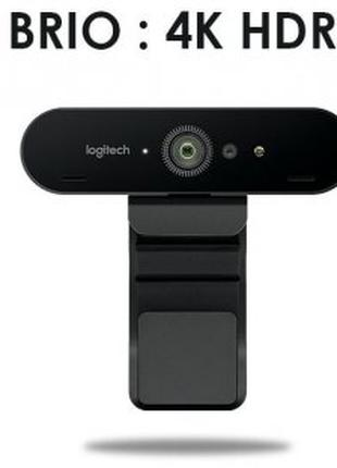 Веб-камера Logitech WebCam BRIO 4K Stream Edition (960-001194)