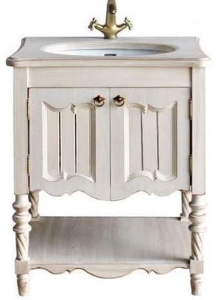 Тумба для ванной комнаты: Флоренция 75 ivory old