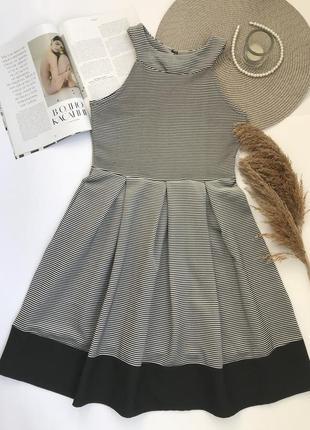 Платье в полоску new look новогоднее / на новый год