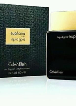 Мужской парфюм Calvin Klein Euphoria Liquid Gold 100 мл