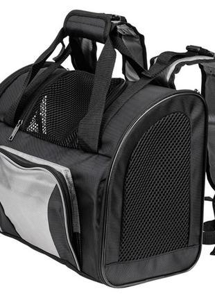 Рюкзак переноска для животных Zoofari 20 л черный