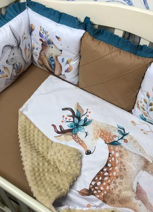 Защита в кроватку, бортики