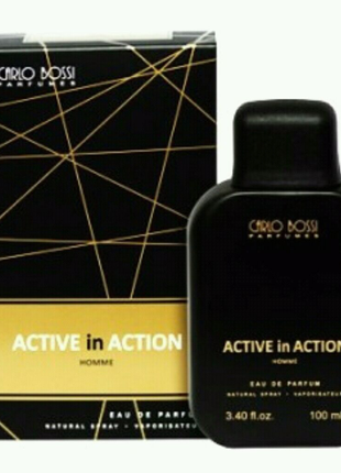 Парфюмерная вода для мужчин Carlo Bossi Active In Action Gold 100