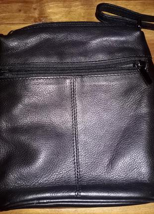 Кожаная сумочка через плечо dernier