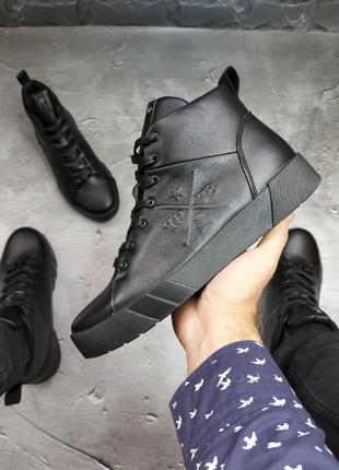 Зимние ботинки philipp plein dos