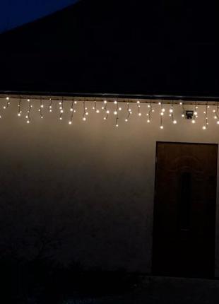 Гирлянда-бахрома (icicle-lights) 120 short curtain-ww2 наружная,