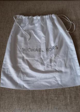 Фирменный атласный пыльник, мешочек майкл корс, michael kors, ...