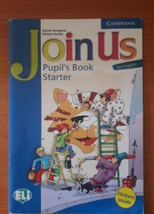 Join Us Pupil's Book Starter