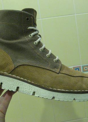Ботинки Timberland 42 кожа