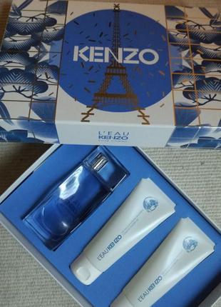 Набор туалетная вода и гель для душа Кензо