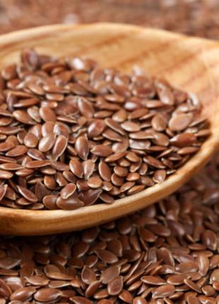 Лен коричневый семена  1кг