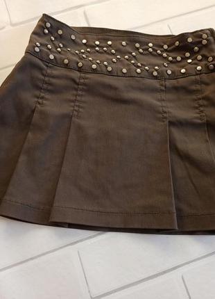 Красивая юбка girls by kappahi, юбка в складку мини