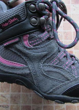 Ботинки детские peter storm waterproof длина по стельке 18 см ...